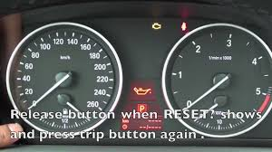 how to reset the 2006 2011 bmw maintenance light oil brake