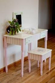 Vanity Table And Stool Set Vanity Mirror And Desk Foter