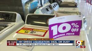 hhgregg black friday tv deals hh gregg liquidation deals or duds wcpo cincinnati oh