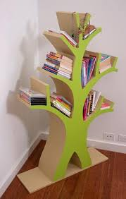 One Step Ahead Bookshelf How To Make A Bookshelf Tree Style Better Homes And Gardens
