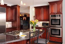 how to install crown molding on staggered kitchen cabinets kitchen
