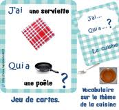 vocabulaire de la cuisine vocabulaire pour la maternelle sur la cuisine