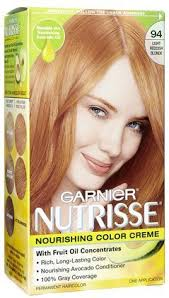 Light Strawberry Blonde Hair Amazon Com Garnier Nutrisse Hair Coloring 94 Light Reddish