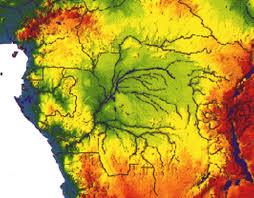 Congo River Map The Kinshasa Mega Dam Part 1 Lake Congo Mapalomania