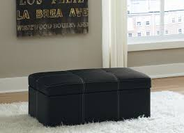 amazon com dhp delaney large rectangular ottoman black kitchen