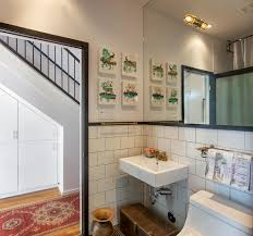 large subway tile bathroom asian with bathroom glass tile glass