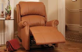 electric recliners available in leather or fabric hsl