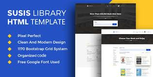 html5 templates for books susis library book showcase html5 template by bdexpert themeforest