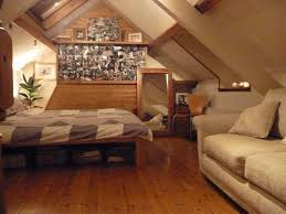 Low Ceiling Attic Bedroom Ideas Bedroom Bedroom Attic Bedroom Idea With Sloped Wooden Ceiling