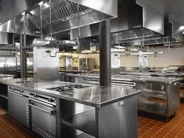Ceiling Tiles For Restaurant Kitchen by French Restaurant Kitchen Layout With Square Orange Tiles