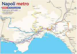 Map Of Naples Italy by Metro Map Of Naples Metro Maps Of Italy U2014 Planetolog Com