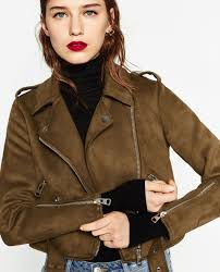 image 2 of suede effect jacket from zara f a s h i o n