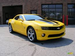 camaro 2010 transformers edition 2010 rally yellow chevrolet camaro ss coupe transformers special