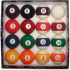 deluxe billiard pool balls set walmart