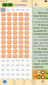 filipino audio holy bible offline scriptures app store