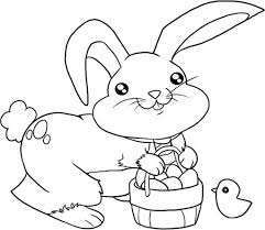 free printable bunny coloring pages aecost net aecost net