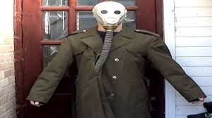 gas mask costume gas mask trenchcoat greatcoat costume idea