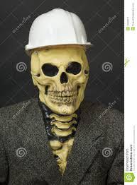 Mask Of Halloween Terrible Dude In Mask Of Skeleton With Helmet Stock Image Image