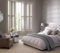 bay window interior shutters design for bedroom inspiration window
