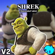 shrek super smash bros wii u003e skins u003e ganondorf gamebanana