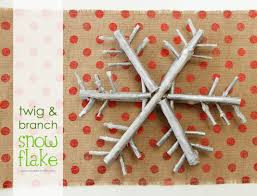 twig u0026 branch snowflake a nice and earthy piece of winter decor