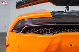 custom lamborghini huracan lamborghini huracan rear wing with stands and carbon base 1016