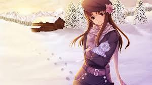 winter anime wallpaper hd anime girl winter 699229 walldevil
