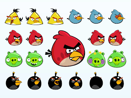 free printable angry birds stickers toppers labels