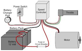 basic electric scooter u0026 bike wiring schematic