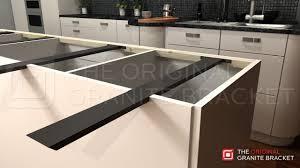 kitchen island brackets granite support brackets photo u2013 home furniture ideas