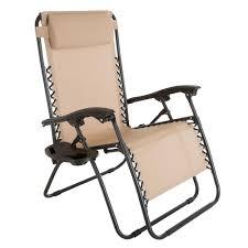 Oversized Zero Gravity Lounge Chair Caravan Sports Infinity Oversized Beige Zero Gravity Patio Chair
