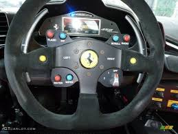 Ferrari 458 Challenge - 2011 ferrari 458 challenge red black challenge steering wheel