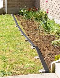 best 25 wood garden edging ideas on pinterest flower bed