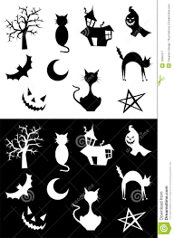 halloween silhouettes royalty free stock photography image 10962477