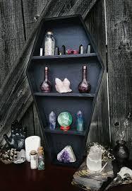 crystal shelf coffin shelf coffin display crystal display