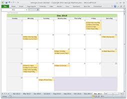 Excel Monthly Calendar Template Excel Calendar Template Monthly Calendar Spreadsheet Software