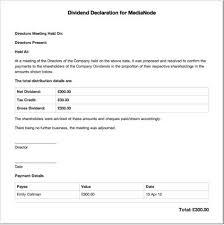 dividend certificate template download images certificate design