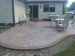 Price For Concrete Patio by Concrete Patio Cost Nj Patio Outdoor Decoration