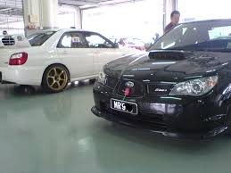 subaru impreza malaysia time attack at sepang rainy sunday with the lmy u0027snails u0027