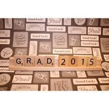 way to go graduation decor graduation party scrabble decor