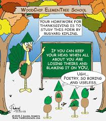 useless thanksgiving poetry the woodchips
