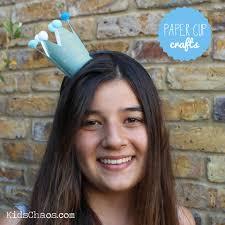 frozen crown craft paper cup craft kidschaos com