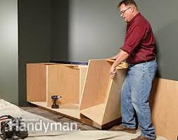 Plywood Cabinet Construction Face Frame Cabinet Plans And Building Tips Family Handyman
