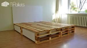 simple pallets bed u2022 1001 pallets