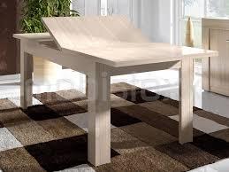 chambre ceruse table extensible allegria 170 220 cm chêne cérusé mobistoxx