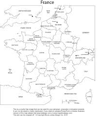 France Maps by France Blank Printable Map With Provinces Royalty Free Clip Art