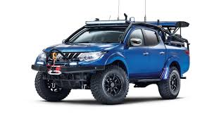 mitsubishi unveils desert slayer l200 triton loaded 4x4