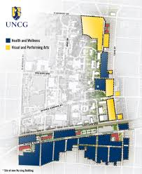 Oakland University Campus Map Uncg Campus Map Image Gallery Hcpr