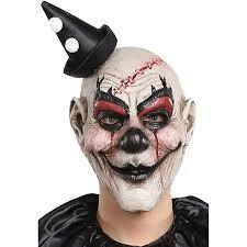 Halloween Clown Costumes by Killjoy Clown Mask Halloween Accessory Walmart Com