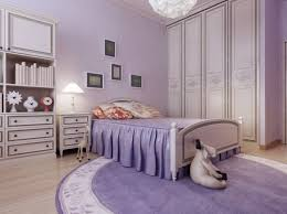 Purple Themed Bedroom - this lavender themed room would be any little girls dream